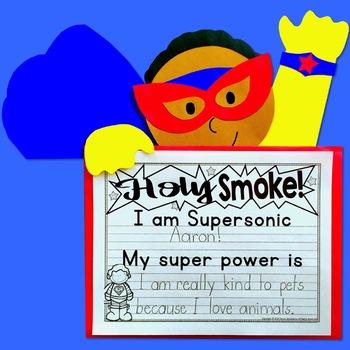 Superhero Craft Activity