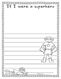 Superhero (Creative Writing/ Art)