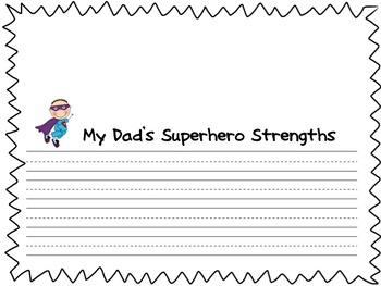 Superhero Dad Book (Father's Day Book) Bundle