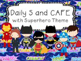 Superhero Daily 5 and CAFE Poster set