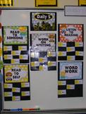 Superhero Daily 5 display