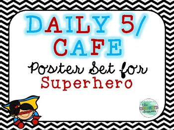 Superhero Daily 5/CAFE Poster Bundle