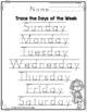 Superhero Days of the Week Worksheets