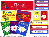 Superhero Decor Bundle for Back to School Decorating in the Elementary Classroom