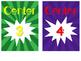 Superhero Decor: Center Number Labels