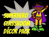 Superhero Decor Pack