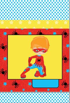 Superhero Decor Set