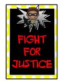 Superhero Decor - version 2