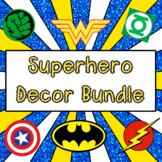 Superhero Decoration Bundle