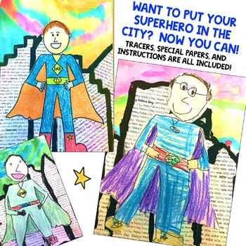 Superhero Directed Drawing & Writing
