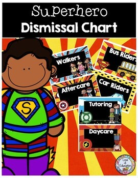 Superhero Dismissal Chart