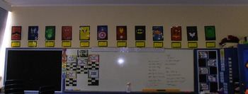Superhero Display - Everything I learned from my heros!