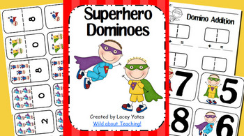 Superhero Dominoes-Number Recognition and Addition