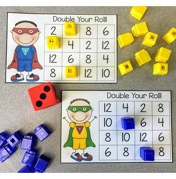 Doubles Facts: Adding Doubles Activities