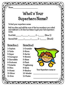 Superhero Dramatic Play