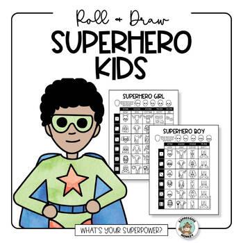 Superhero Drawing