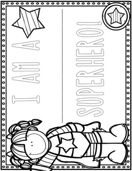 Superhero ELA Activities FREEBIE