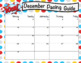 Superhero Editable Calendars 2016-2017
