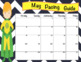 Superhero Editable Calendars 2016-2017