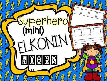 Superhero Mini Elkonin Boxes