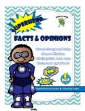 Superhero Fact and Opinion Worksheet(s)