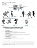 Superhero Family Tree (Spanish)