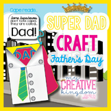 Superhero Father's (Dad) Day Card Craft