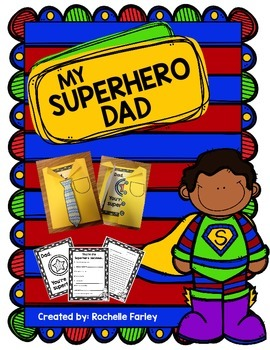 Superhero Father's Day Craftivity