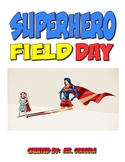 PE Superhero Field Day activity ideas packet