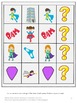Superhero Math and Literacy File Folder Games Summer School Special Education