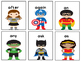 Superhero First Grade Dolch Sight Words Game
