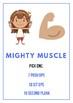 Superhero Fitness Tag