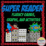 Superhero Reading Fluency Games and Activities BUNDLE
