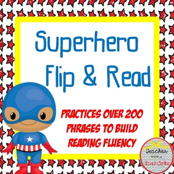 Superhero Fluency Phrases