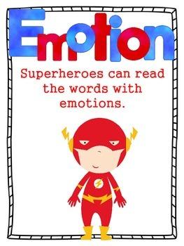 Superhero Fluency Posters