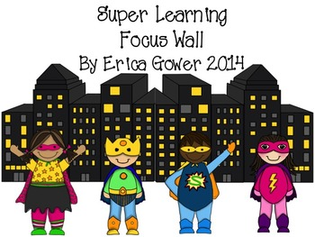 Superhero Focus Wall Posters