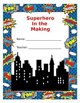 Superhero Folder Template