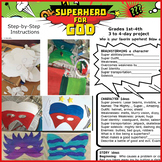 Back To School Art and Writing Lesson Superhero For God