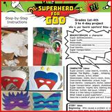 Art and Writing Lesson Superhero For God