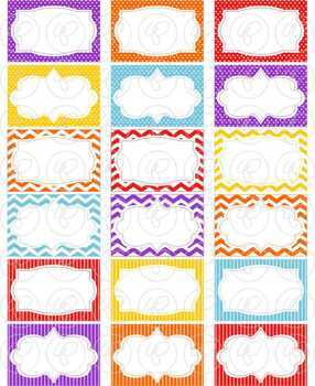 Superhero Frames and Labels Digital Borders Clipart by Poppydreamz