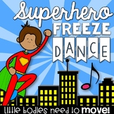 Brain Break - Superhero Freeze Dance