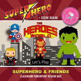 Superhero & Friends PowerPoint Game