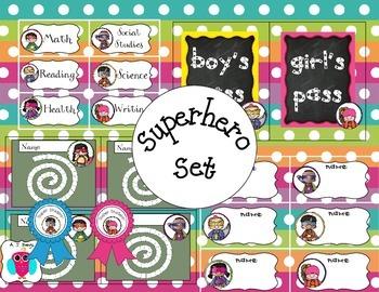 Superhero Fun Pack