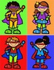 Superhero Generic Classroom Decor/Labeling Set