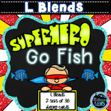 Superhero Go Fish - L Blends Game