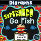Superhero Go Fish - Phonics, Contractions, Word Families, Fry 1st 100 Words