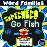 Word Families Kindergarten and First Grade | Word Families Game