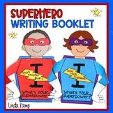 Superhero Goal Setting Writing Craft