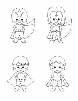 Superhero Graphics - Complete Set