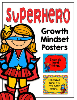Superhero Growth Mindset